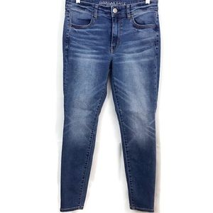 American Eagle High Rise Jegging Stretch Jeans